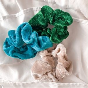 spring morning colorful scrunchies pack